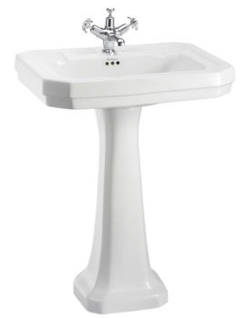 Burlington Victorian 610mm Basin And Full Pedestal