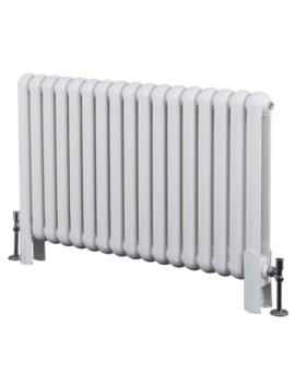 Phoenix Lilly 1032 x 400mm Horizontal White Column Radiator
