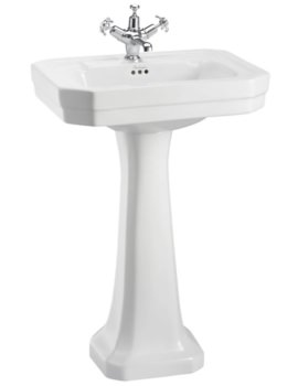 Burlington Victorian 560mm Basin And Regal Pedestal