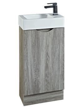 Phoenix Seattle 460mm Avola Vanity Unit With Basin