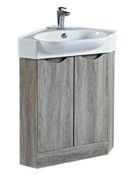 Phoenix Dakota 51cm Corner Vanity Unit And Sink