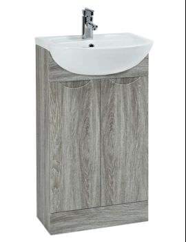 Phoenix Trend 500mm Avola Vanity Unit With Basin