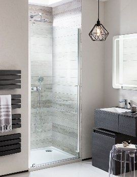 Simpsons Pier 900mm Hinged Shower Door