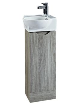 Phoenix Georgia 350mm Avola Unit and Ceramic Basin