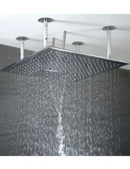 Phoenix Luxury 500mm Dual Function Ceiling Mounted Shower Head