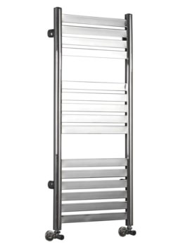 Phoenix Caprice 500 x 1148mm Pre Filled Electric Radiator Chrome