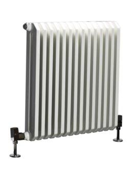 Phoenix Dee 580 x 600mm White Column Radiator