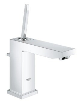 Grohe Eurocube Joy M-Size Basin Mixer Tap With Pop-Up Waste