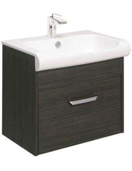 Bauhaus Essence 600mm Single Drawer Unit And Basin