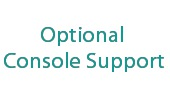 Optional Console Support