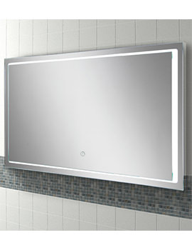 HIB Spectre 100 Landscape LED Illuminated Mirror 1000 x 600mm