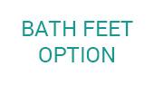 Bath Feet Option