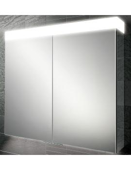 HIB Apex 100 Double Door LED Aluminium Cabinet 1000 x 750mm