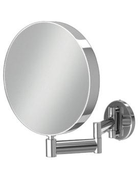 HIB Helix Round Magnifying Mirror - Diameter: 200mm