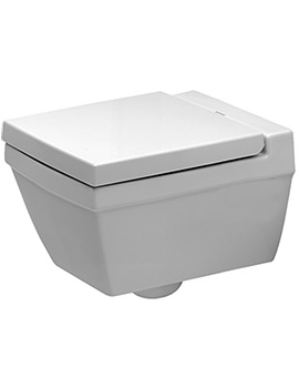 Duravit 2nd Floor Wall Mounted WC Pan With Soft Close Seat And Cover