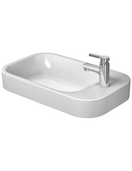Duravit Happy D2 650 x 400mm Above Counter Ground Basin