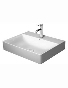 Duravit DuraSquare 600mm Width Bathroom Sink