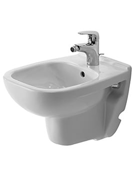 Duravit D-Code 480mm Wall Mounted Bidet Compact