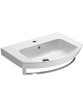 Saneux Poppy 650mm Washbasin With Overflow