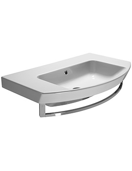 Saneux Poppy 800mm Washbasin With Overflow