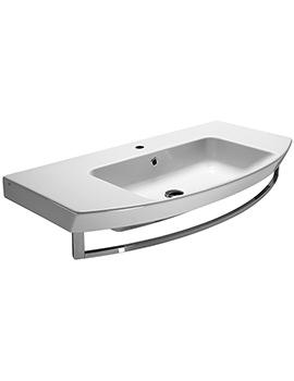 Saneux Poppy 1000mm Washbasin With Overflow