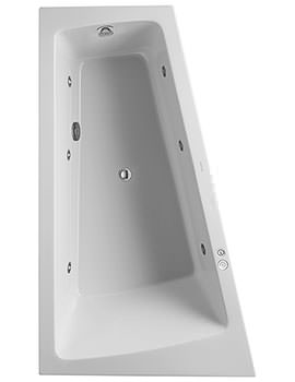Duravit Paiova Bath With Panel And Support Frame
