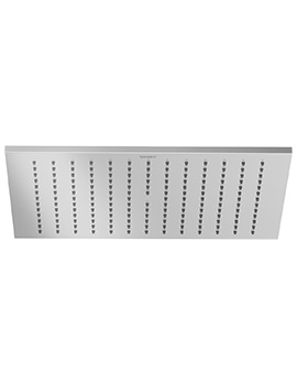 Duravit 300 x 300mm Square Stainless Steel Showerhead