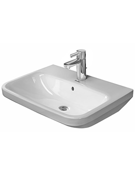 Duravit DuraStyle 600 x 440mm 1 Taphole Washbasin With Overflow