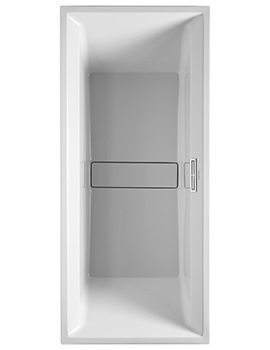 Duravit 2nd Floor Built-In 1800 x 800mm Bath White Alpin