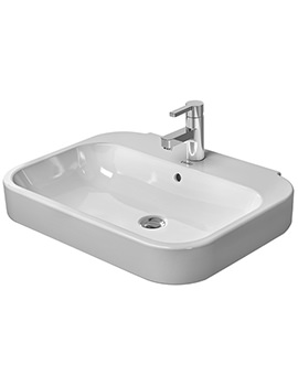 Duravit Happy D2 650 x 495mm Washbasin