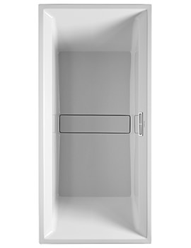 Duravit 2nd Floor Built-In 1900 x 900mm Bath With Support Feet
