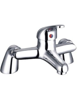 Mayfair Cosmic Bath Filler  Deck Mounted Tap Chrome