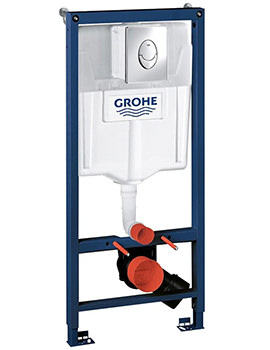 Grohe Rapid SL Skate Air 1.13m Wall Hung WC Frame And Cistern 3 In 1 Pack