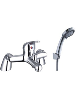 Bath Mixer Taps With Shower Attachment mayfair cosmic bath shower mixer tap chrome with shower kit - csm007
