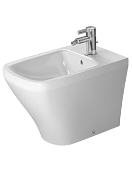 Duravit DuraStyle 370 x 570mm Back To Wall Floor Standing Bidet