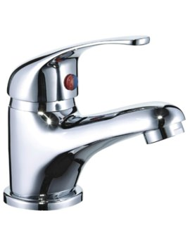 Mayfair Cosmic Monobloc Basin Mixer Tap With Click Clack Waste