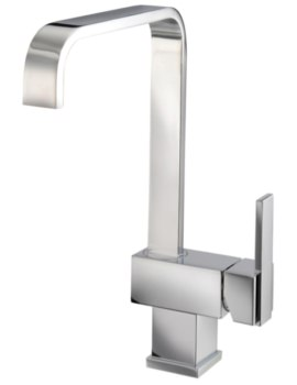 Mayfair Flow Mono Mixer Kitchen Tap With Side Lever