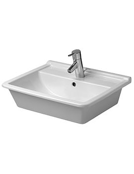 Duravit Starck 3 560 x 465mm Counter Top Vanity Basin