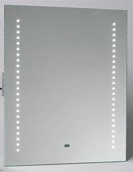 Saneux Elluminate 500mm Mirror With 48 LED And Shover Socket