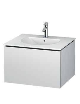 Duravit L-Cube 620mm Wall Mounted Vanity Unit With Darling New Basin