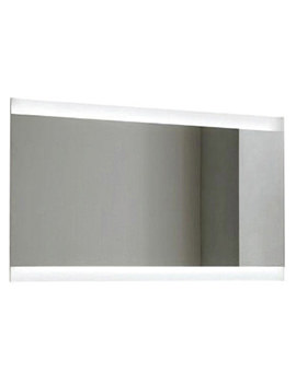 Saneux Dusk 1200 x 700mm Mirror With LED