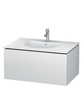 Duravit L-Cube 820mm Wall Mounted Vanity Unit With Darling New Basin