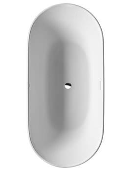 Duravit Luv Freestanding Bathtub - 1800mm x 850mm