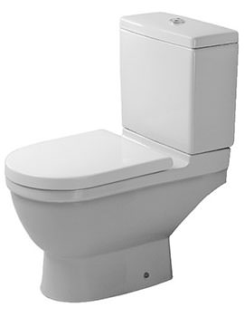 Duravit Starck 3 360 x 655mm Close Coupled Toilet With Cistern