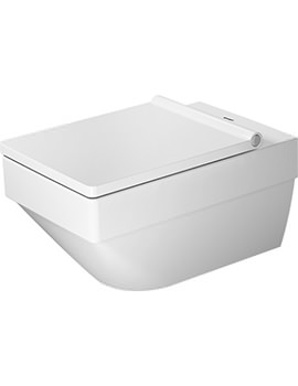 Duravit Vero Air 370 x 570mm Rimless Wall Mounted Toilet