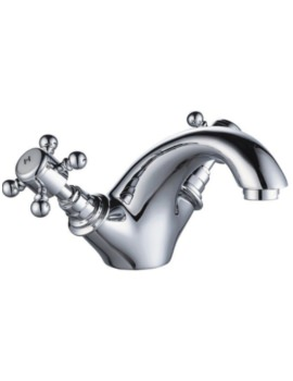 Mayfair York Mono Basin Mixer Tap With Click Clack Waste