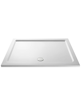 Premier Pearlstone 1300 x 800mm Rectangular Shower Tray