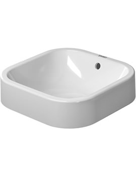 Duravit Happy D2 Ground Washbowl 400 x 400mm