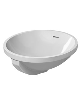 Duravit Architec 400mm Undercounter Vanity Basin With Overflow