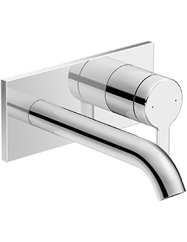 Duravit C.1 Wall Mounted Single Lever Basin Mixer Tap - 174mm Projection
